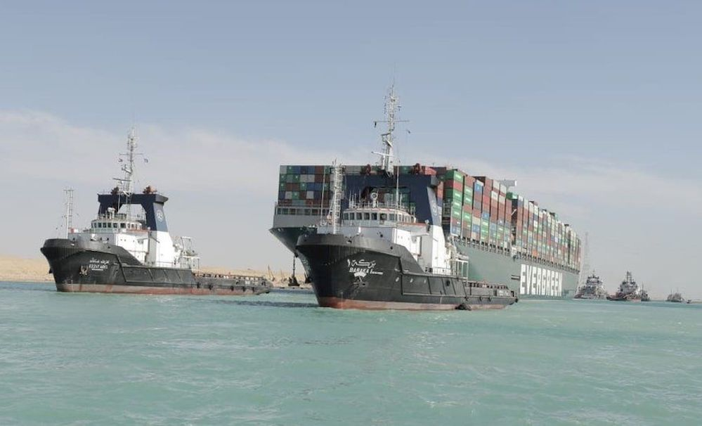 Comment from Logistics UK re the refloating of the EverGiven in the Suez Canal - Elite Universal